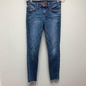 Joe's | Icon Ankle Frayed Hem Mid Rise Skinny Jean